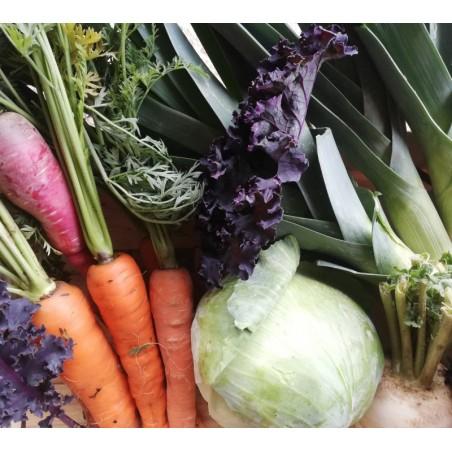 Panier de légumes d'Aux Légumes Puifondins
